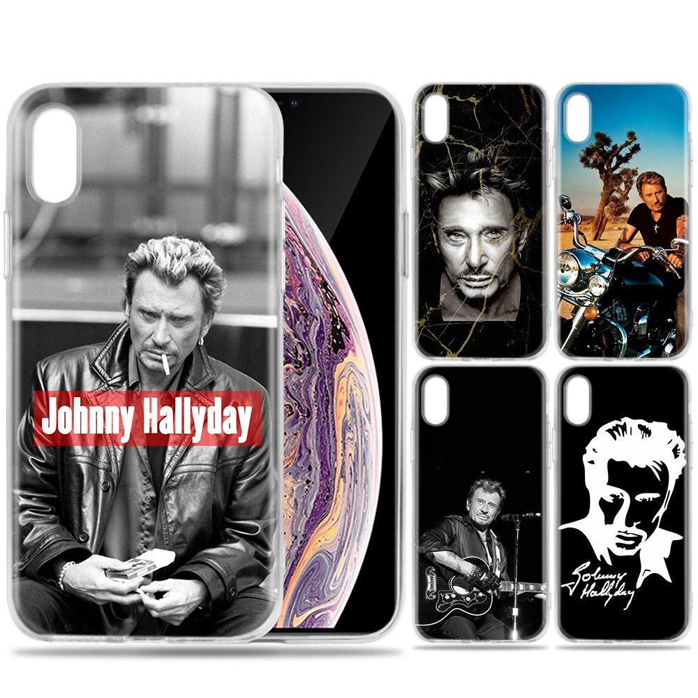 coque iphone 6 plus johnny hallyday